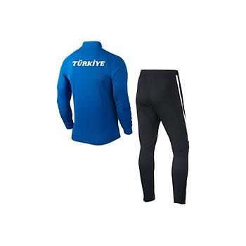 Nike Sqd17 Milli Takým Baskýlý Eþofman 832325 Mavi