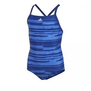 Adidas Aop 1pc Çocuk Yüzücü Mayosu DL8779