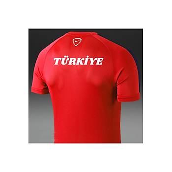 Nike Çocuk Milli Takým Baskýlý Tiþört Turuncu 646401-662