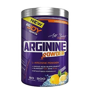 Big Joy Argýnýne Powder 500 Gr Limon