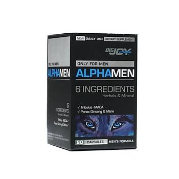 Bigjoy Sports Vitamins Alphamen 90 Kapsül