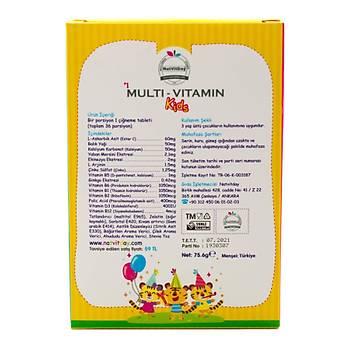 NatVitDay Multivitamin Kids 36 Kapsül