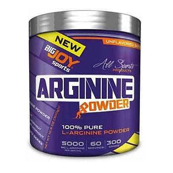 Big Joy Arginine Powder 300 Gr
