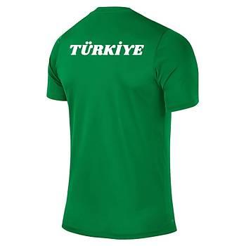 Nike Acdmy16 Milli Takým Baskýlý Tiþört Yeþil 725932