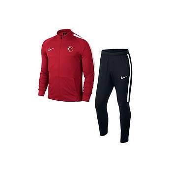 Nike Sqd17 Milli Takým Baskýlý Eþofman 832325 Kýrmýzý