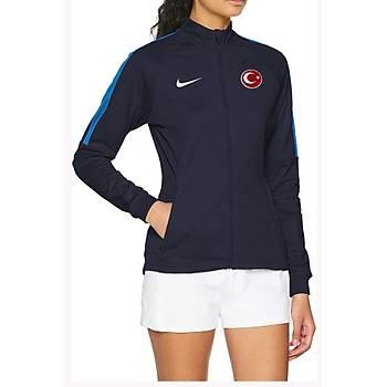 Nike Acdmy18 Milli Takým Baskýlý Kadýn Ceket 893767-451 Lacivert