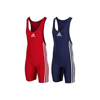 Adidas Per Basic Wrestling Pack Güreþ Mayosu 028825 Kýrmýzý