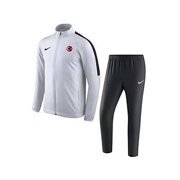 Nike Acdmy18 Milli Takým Baskýlý Eþofman Takýmý 893709 - Beyaz
