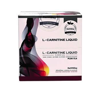 NatVitDay L-Carnitin Plus CLA 3000 Mg 20 Ampül