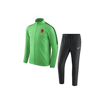 Nike Acdmy18 Milli Takým Baskýlý Eþofman Takýmý 893709 - Yeþil