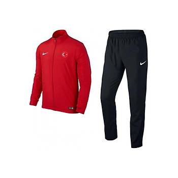 Nike Acdmy16 Milli Takým Baskýlý Eþofman 808758 Kýrmýzý