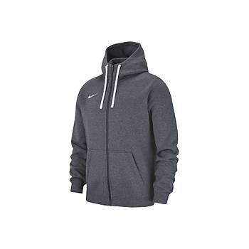 Nike Hoodie 19 Milli Takým Baskýlý Sweatshirt AJ1313 Gri