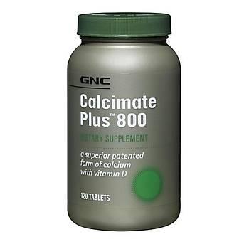 Gnc Calcimate Plus 800 120 Tablets