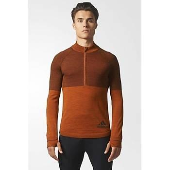 Adidas Climaheat Primeknit Erkek Sweatshirt BQ9345