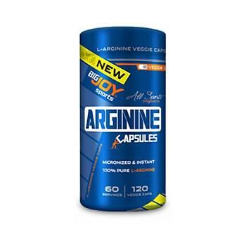 Bigjoy Arginine Capsules 120 Kapsül