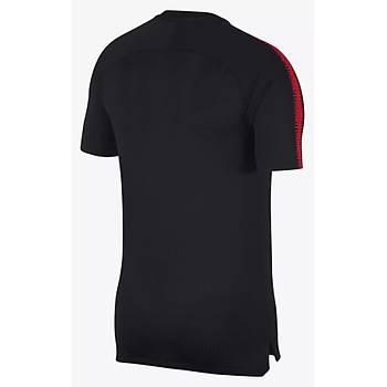 Nike Milli Takým Baskýlý Tiþört Siyah 893288