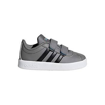 Adidas VL COURT 2.0 CMF Spor Ayakkabý F36401 Gri