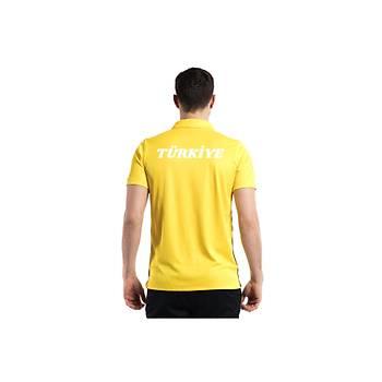 Nike Acdmy18 Polo Milli Takým Baskýlý Tiþört 899984 Sarý