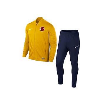 Nike Acdmy16 Milli Takým Baskýlý Eþofman 808757-739 Sarý