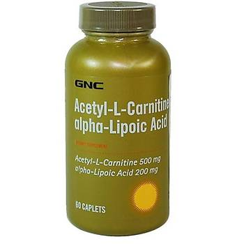Gnc L Carnitine Alpha Lipoic  Acid 60 Capsul