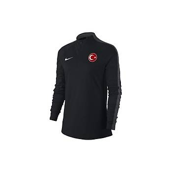 Nike Kadýn Milli Takým Baskýlý Eþofman Üst 893710 Siyah