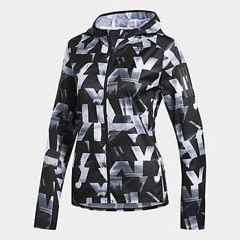 Adidas Siyah Kadýn Spor Ceketi DQ2628