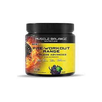 Muscle Balance Nutrition Pre-Workout Range Xplode 525 Gr Üzüm