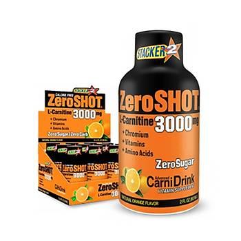 Stacker Zeroshot L-Carnitin Orange 3000 Mg 12X60 ML