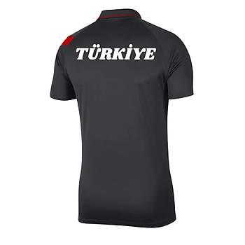 Nike Milli Takým Baskýlý Tiþört Siyah BV6922-061