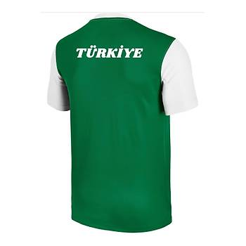 Nike Çocuk Antrenman Milli Takým Baskýlý Tiþört Yeþil 588430-301