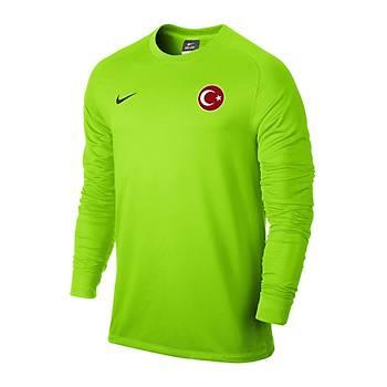 Nike Milli Takým Baskýlý Uzun Kollu Yeþil 588418-303