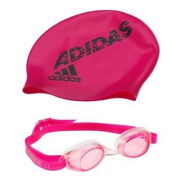 Adidas Swim Çocuk Bone Gözlük Takýmý AB6070