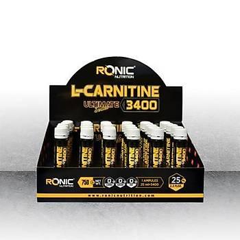 Ronic Nutritýon L-Carnitin 3400 30 Ampul