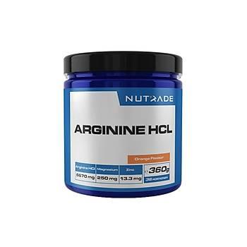 Nutrade Arginine HCL 360 Gr Orange