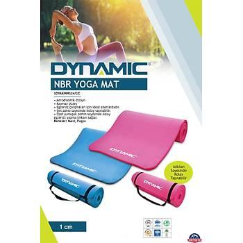 Dynamic 10 Mm Deluxe Foam Pilates Minderi & Yoga Mat MAVÝ