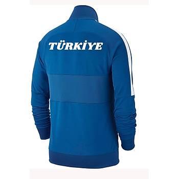 Nike Acdmy19 Milli Takým Baskýlý Ceket AJ9180-463 Mavi