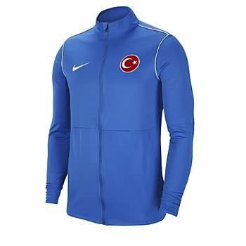 Nike Park20 Milli Takým Baskýlý Eþofman Üst BV6885-463 Mavi