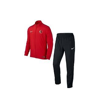 Nike Acdmy16 Milli Takým Baskýlý Çocuk Eþofman 808759 Kýrmýzý