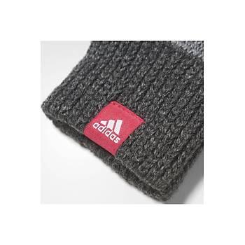 Adidas Stripy Mittens ELDÝVEN Gri-Pembe - CD3044