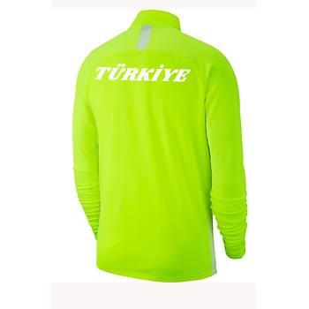 Nike Acdmy19 Milli Takým Baskýlý Sweatshirt AJ9094-702 Yeþil