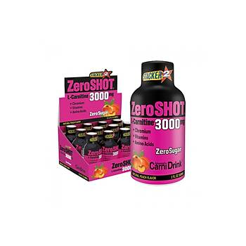 Stacker Zeroshot L-Carnitin Peach 3000 Mg 12X60 ML