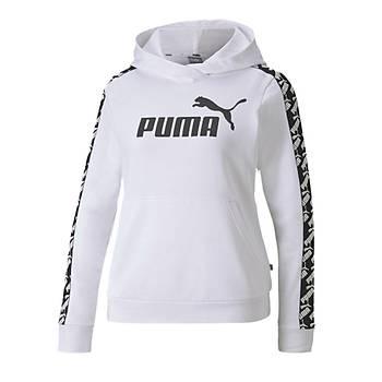 Puma Kadýn Kapþonlu Sweatshirt 58122002 Beyaz