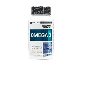 Big Joy Vitamins Omega 3 Balýk Yaðý 100 Kapsül