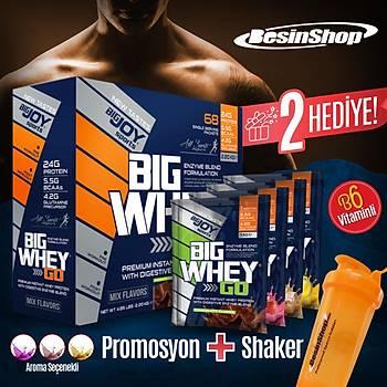 Big Joy Bigwhey Go! Protein Tozu 2444 gram 68 Þase