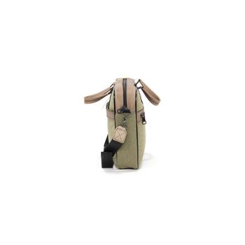 Cambridge Polo Club Kanvas Evrak Çantasý PLEVR50041 Haki Vizon