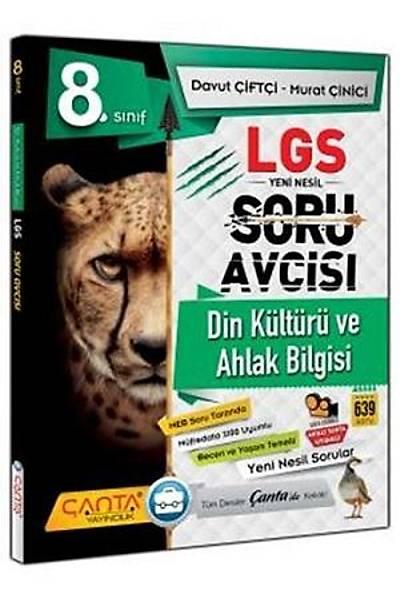 Çanta Yayýncýlýk 8.Sýnýf Din Kültürü ve Ahlak Bilgisi LGS Yeni Nesil Soru Avcýsý Yeni Baský (2020-2021)