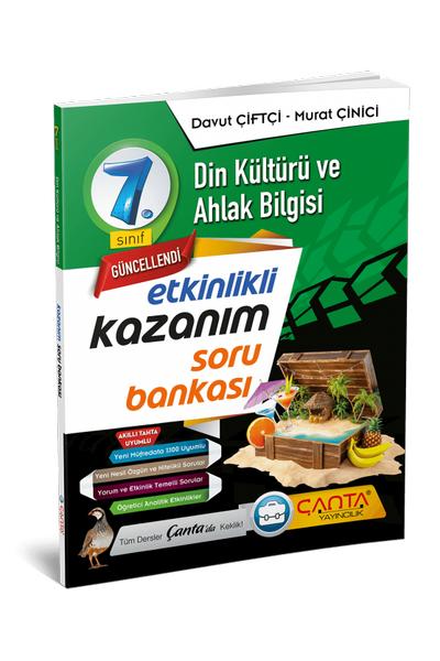 Çanta Yayýncýlýk 7.Sýnýf Din Kültürü ve Ahlak Bilgisi Etkinlikli Kazaným Soru Bankasý Yeni Baský (2020-2021)