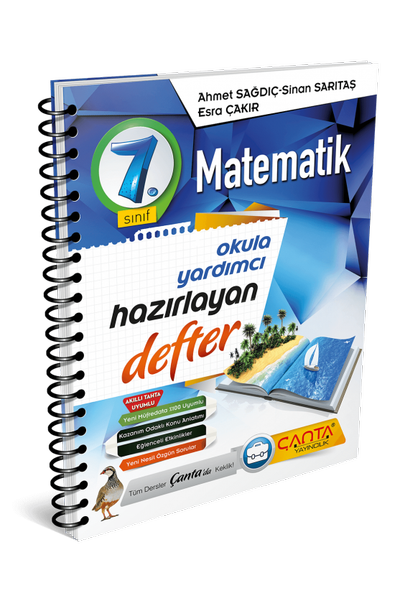 Çanta Yayýncýlýk 7.Sýnýf Matematik Hazýrlayan Defter Yeni Baský (2020-2021)