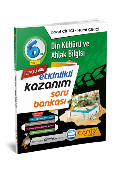 Çanta Yayýncýlýk 6.Sýnýf Din Kültürü ve Ahlak Bilgisi Etkinlikli Kazaným Soru Bankasý Yeni Baský (2020-2021)