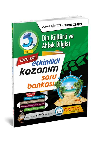 Çanta Yayýncýlýk 5.Sýnýf Din Kültürü ve Ahlak Bilgisi Etkinlikli Kazaným Soru Bankasý Yeni Baský (2020-2021)